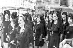 Processione di laga del ¡ di MÃ Immagine Stock Libera da Diritti