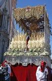 Processione di Pasqua di Cadice fotografia stock libera da diritti