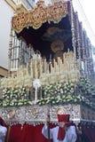 Processione di Pasqua di Cadice Immagini Stock Libere da Diritti