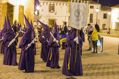 Processione di Pasqua in Spagna Fotografia Stock
