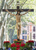 Processione di settimana santa in Palma di Maiorca Fotografia Stock Libera da Diritti