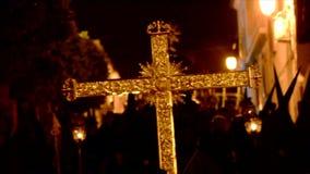 Processione di settimana santa in Spagna, Andalusia archivi video