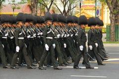 Processione full-dress del centro principale della pressa Immagine Stock Libera da Diritti