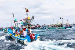 Processione marina Fotografie Stock