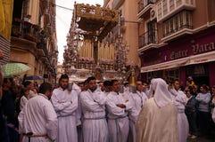 Processione orientale di Malaga Immagine Stock