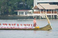 Processione reale della chiatta, Bangkok 2012 Fotografia Stock