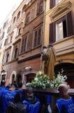 Processione religiosa Fotografia Stock Libera da Diritti
