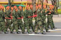 processionrepetition Fotografering för Bildbyråer