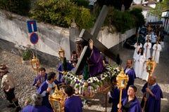 processionstationer Royaltyfria Bilder