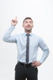 Processo considerável júnior da exibição do gerente de ideia Fotos de Stock