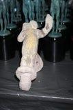 Processo de ator Statuettes Cast das estatuetas da carcaça para 17as concessões anuais da guilda dos atores de Scrren imagem de stock royalty free