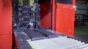 Processo de impressão do jornal na casa de impressão vídeos de arquivo