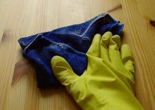 Processo de limpeza da poeira imagens de stock royalty free
