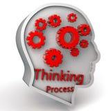 Processo de pensamento Fotografia de Stock