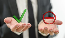 Processo decisionale Fotografia Stock