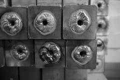 Processo dell'alluminio della saldatura Immagine Stock