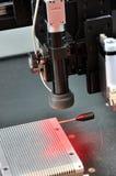 Processo di fabbricazione di precisione Immagini Stock