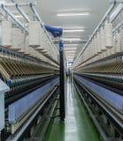 Processo di filatura del filato Immagini Stock