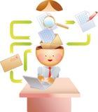 Processo do email Imagens de Stock Royalty Free