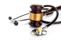 Processo legal médico do conceito Imagens de Stock Royalty Free