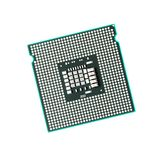 Processor. Computer CPU isolated on pure white background Royalty Free Stock Images