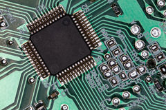 Processor. Stock photo:computer theme:an image of processor Royalty Free Stock Image