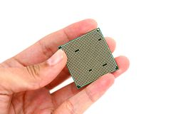 Processor back Royalty Free Stock Images