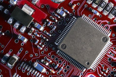 Processor on board Royalty Free Stock Image