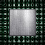 Processor chip. The pattern of processor chip Stock Images