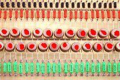 Processor chip radio Stock Images