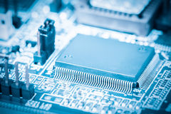 Processor closeup Stock Images