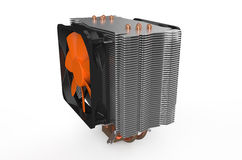 Processor cooler Royalty Free Stock Image