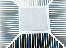Processor cooler. With heat conductive paste applied Royalty Free Stock Photos