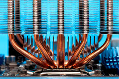 Processor cooling system Royalty Free Stock Images
