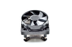 Processor heatsink cooler fan Royalty Free Stock Images