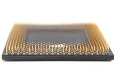 Processor from old computer Stock Images