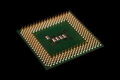 Processor Pins Royalty Free Stock Images