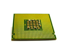 Processor with a plurality of contacts Royalty Free Stock Images