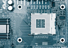 Processor socket Royalty Free Stock Photos