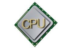 Processor unit concept CPU isolated on white background 3d render. Processor unit CPU concept . 3D render, isolated on white background Stock Photography
