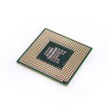 Processor on a white background Stock Image