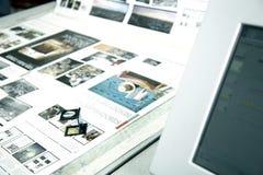 Processus d'impression Photo libre de droits
