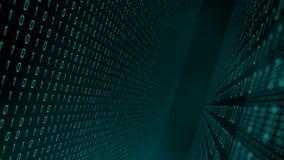 Processus d'intelligence artificielle d'apprentissage automatique illustration libre de droits