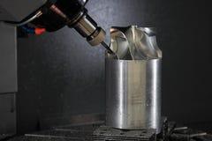 Processus de fabrication de roue de turbine Photo stock