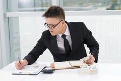 Jeune secrétaire Image stock
