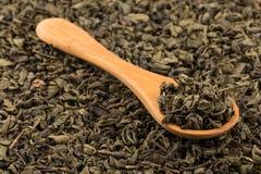 Proch zielona herbata Obraz Royalty Free