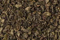 Proch zielona herbata Zdjęcie Royalty Free