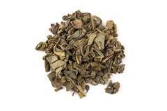 Proch zielona herbata obrazy stock