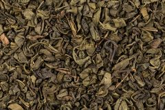Proch zielona herbata zdjęcie stock