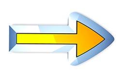 Prochain bouton Image libre de droits